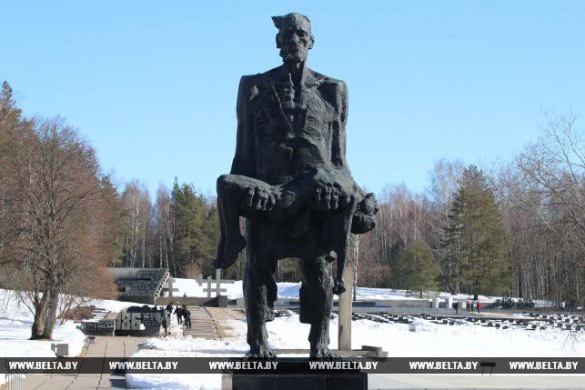 """Государственный мемориальный комплекс """"Хатынь"""". 19 марта 2018 года"""