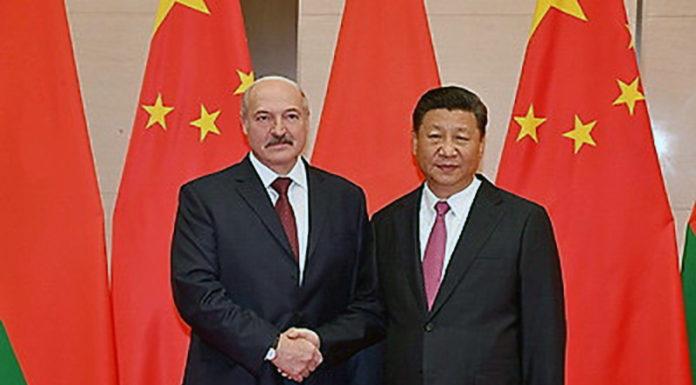 Александр Лукашенко и Си Цзиньпин
