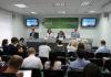 """Брифинг """"Партнерская проверка результатов стресс-тестов Белорусской АЭС и дальнейшие шаги"""" в пресс-центре БЕЛТА"""