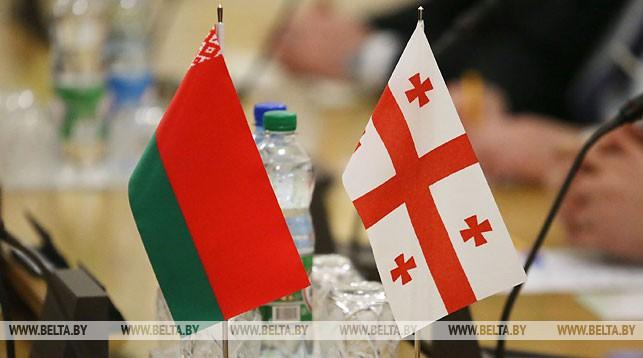 флаг, Грузия, Беларусь