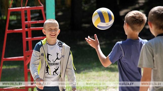 мяч, дети, волейбол, спорт