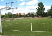 стадион, школа, Лельчицы, футбол