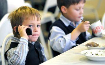 Школьник, телефон, мобильный