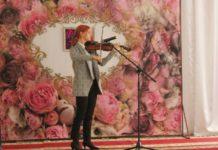 скрипка, скрипач, день работников культуры