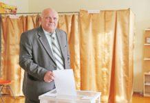 Назарчук, выборы