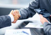бизнес, рукопожатие, деловая встреча
