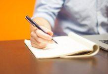 оформление, документы, пишет