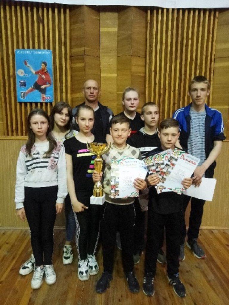 Настольный теннис, соревнования, Лельчицкий район