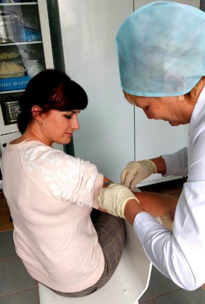Лельчицы, больница, вакцинация, ЦРБ