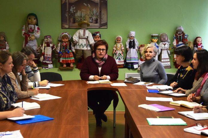 Наталья Гавриловец, совещание