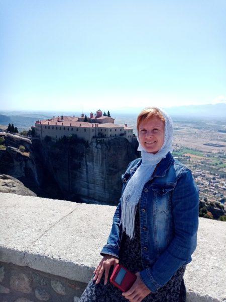 Светлана Липская, остров Корфу