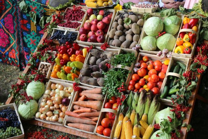 ярмарка, овощи