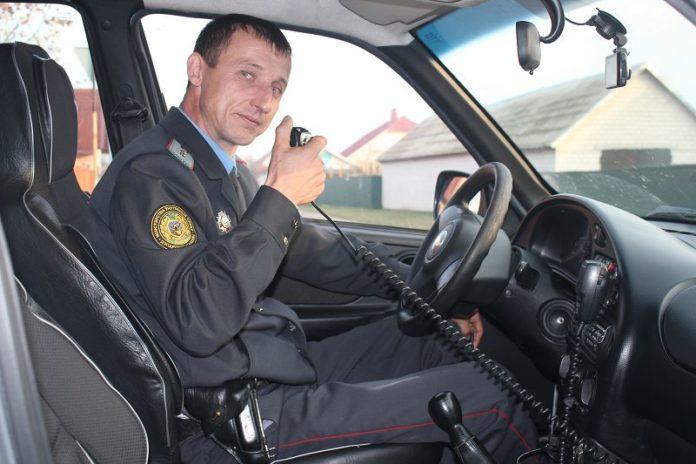 Андрей Боровик, МВД, охрана
