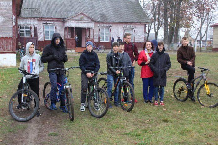 Лельчицы, велосипед