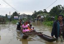проливные дожди на Шри-Ланке