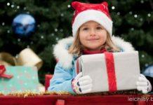 подарок, рождество, дети, новый год