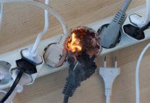 Удлинитель, пожар, электробезопасность