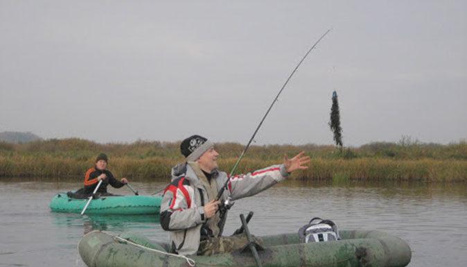 лодка, рыбалка, озеро