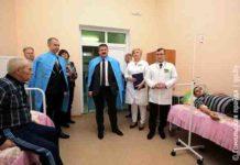 Соловей, Гомель, больница