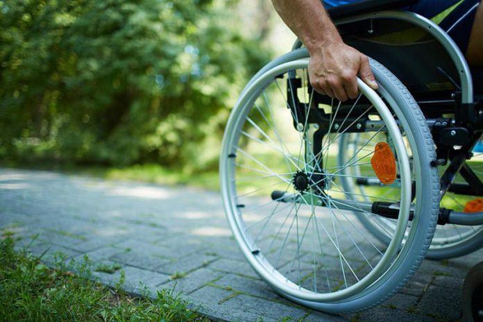 коляска, инвалид