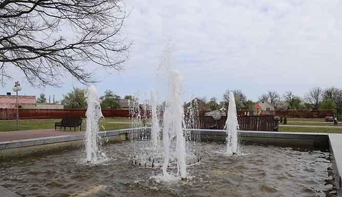 фонтан, Лельчицы