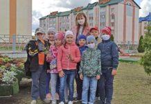 Юные экологи районной гимназии