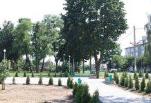 парк, военная техника