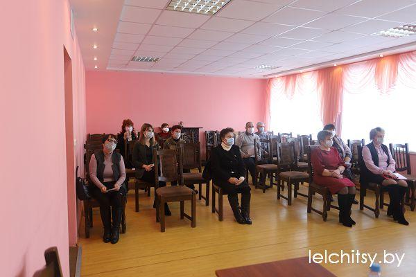 Отчётная конференция ветеранов