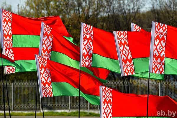 Флаг, Беларусь